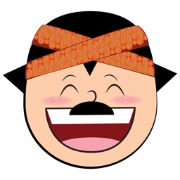 Funny Man Cartoon Face