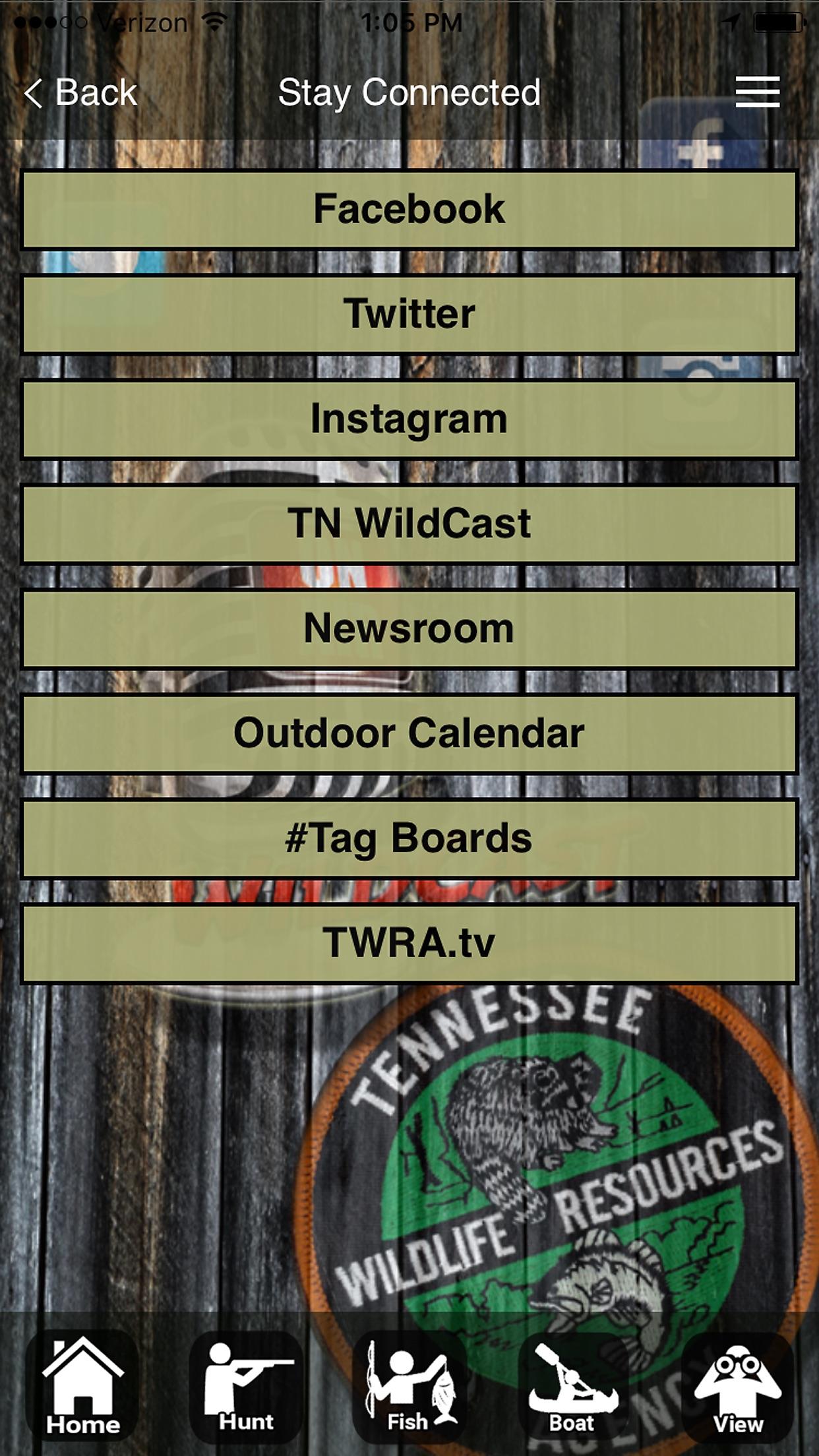TWRA On the Go Screenshot