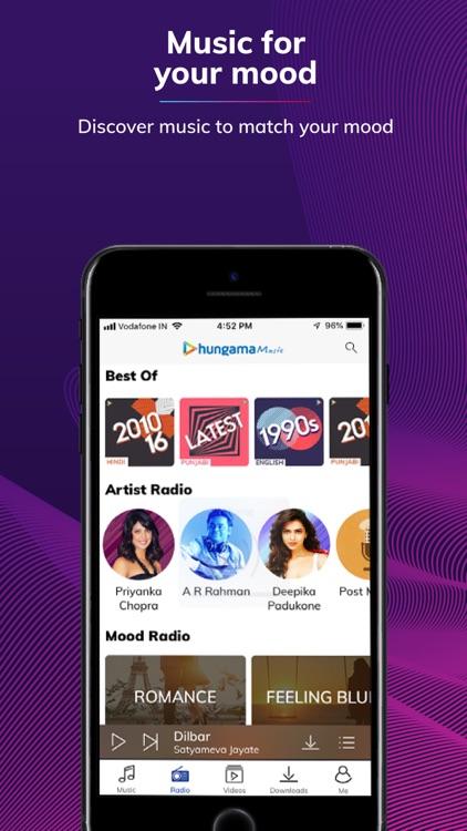 Hungama Music - Songs & Radio screenshot-3