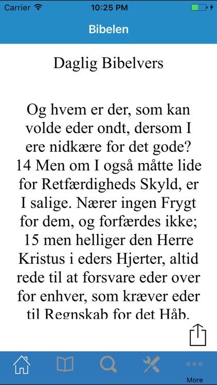 Bibelen på Dansk