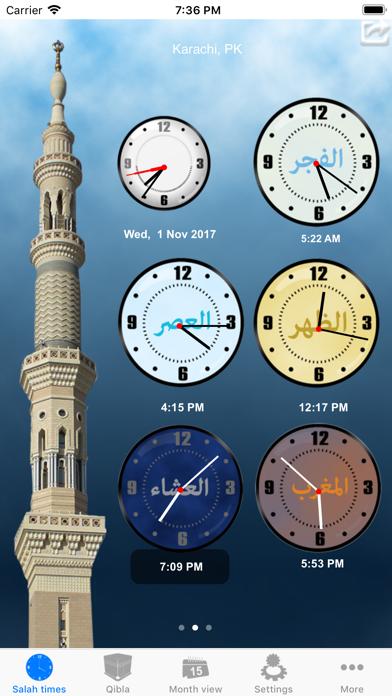 Salah Clock, Prayer & Qiblaのおすすめ画像2