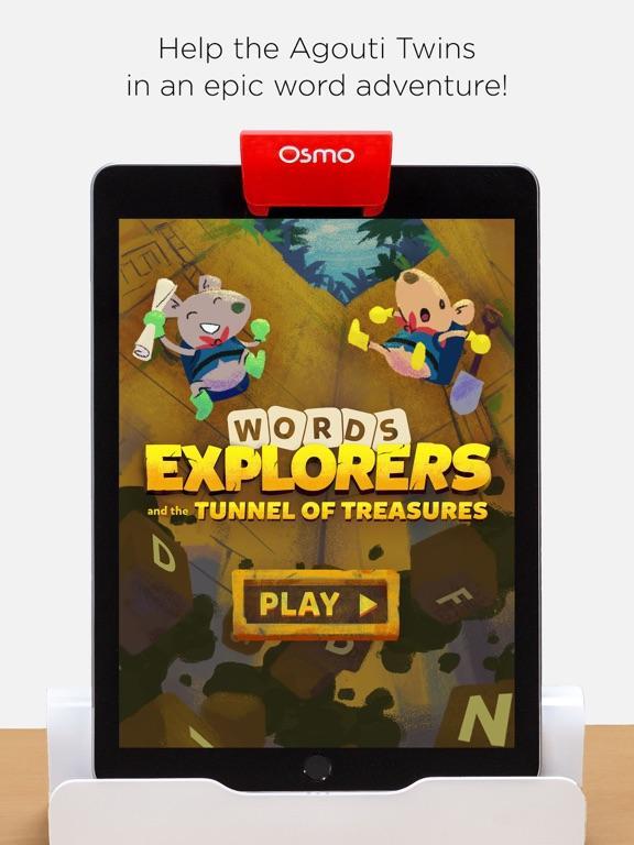 Osmo Words Explorers screenshot 1