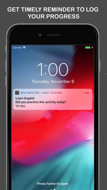 Routines Pro - Habit Tracker screenshot-5