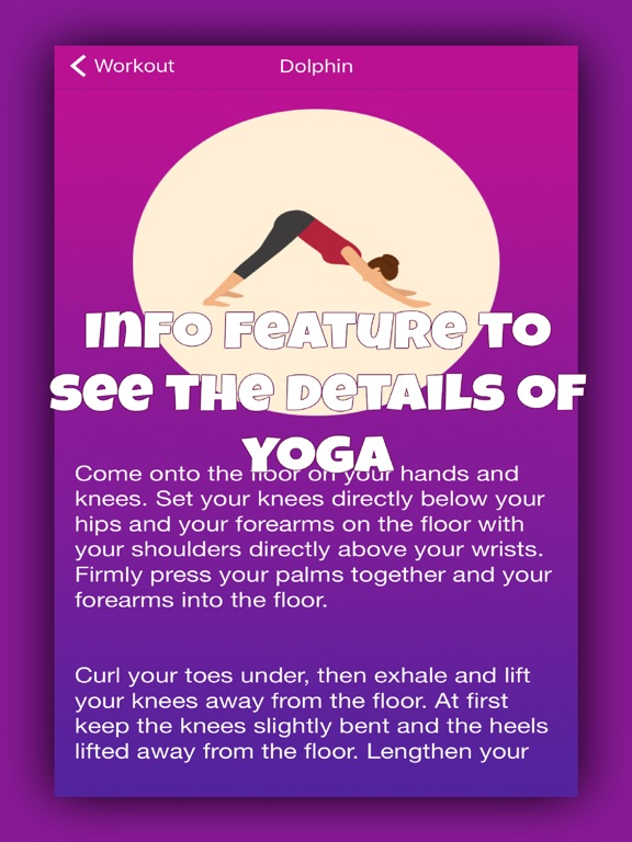 ... Screenshot #2 for 15 minute yoga workout plan ...