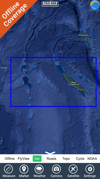 Boating New Caledonia HD chart screenshot-7