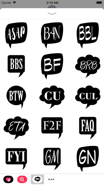 Chat Abbreviations Pack