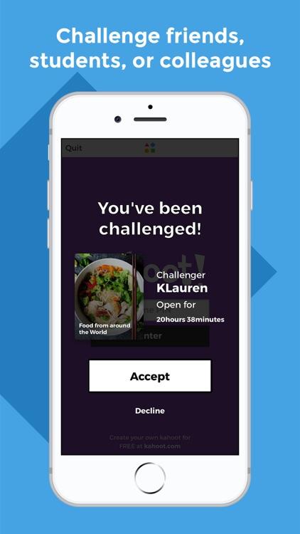 Kahoot! Play & Create Quizzes screenshot-7