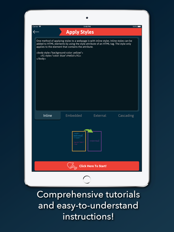 L2Code CSS – Learn to Code and Build CSS Webpages and Websites screenshot
