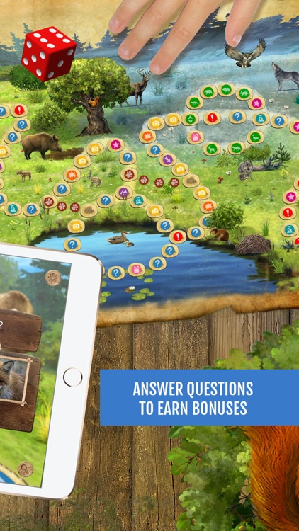 Forest Quest: board game, quiz screenshot-1