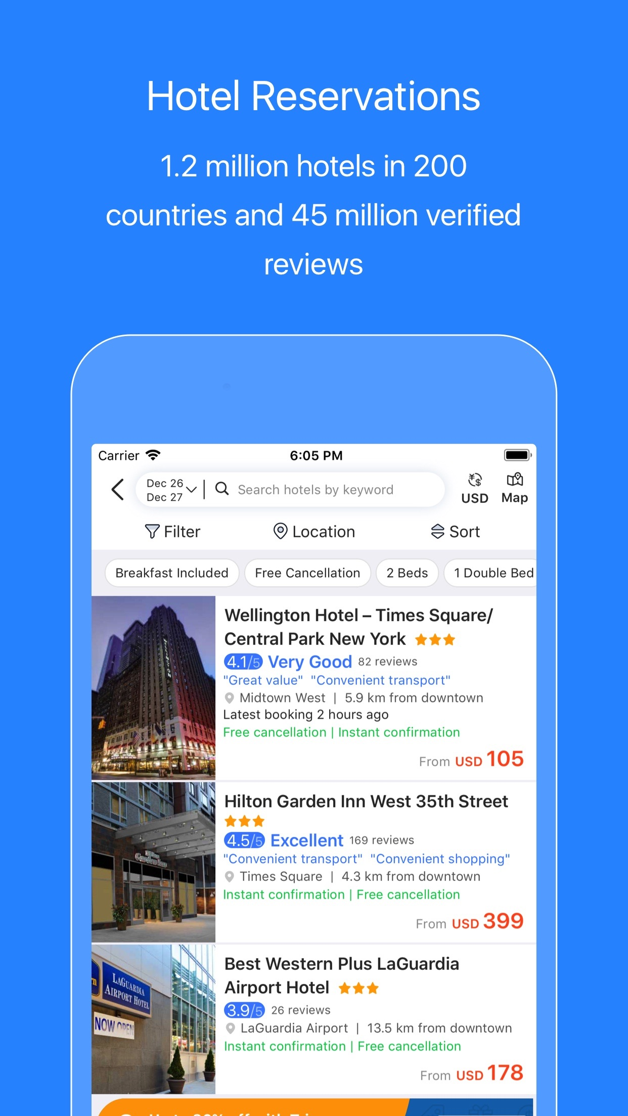 Trip.com – Flights & Hotels Screenshot