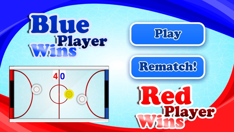 Air Hockey Players Game screenshot-2
