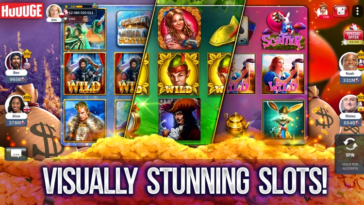 Slot Machines - Huuuge Casino screenshot-3