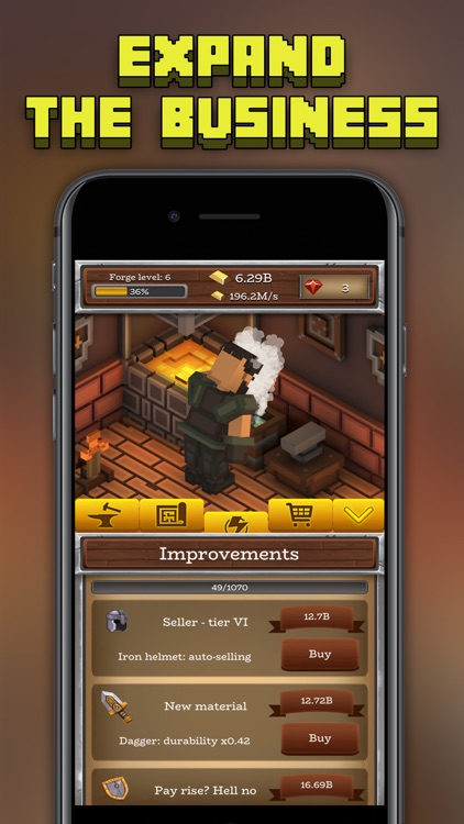 ForgeCraft - Idle Tycoon screenshot-3