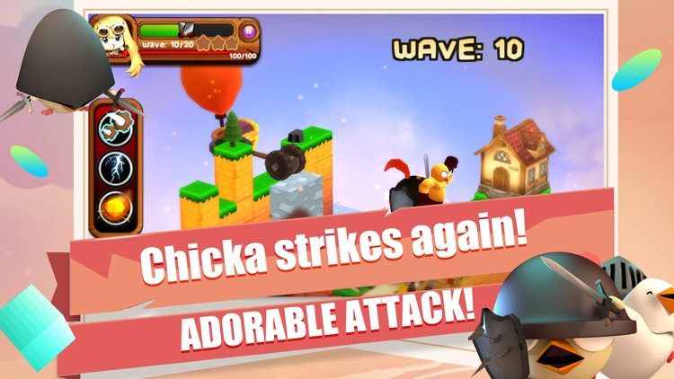 3DTD: Chicka Invasion screenshot-3