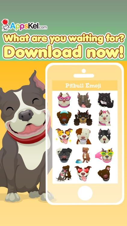 Pit-Bull Emoji Pro screenshot-3