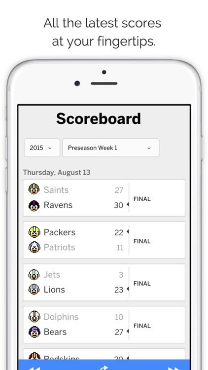 GameDay Pro Football Radio screenshot-3