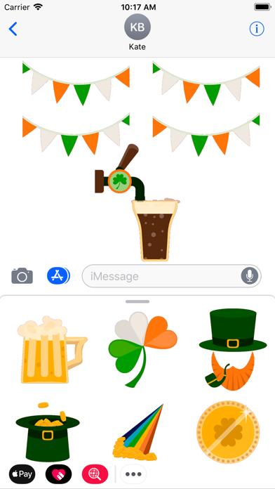 点击获取St.Patrick Day animated emoji