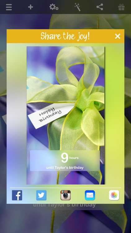 Birthday Countdown ‼ screenshot-3