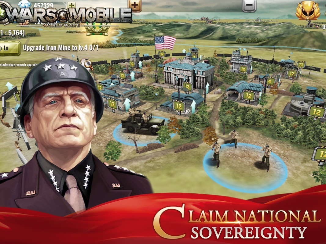 Wars Mobile:World War II - Online Game Hack and Cheat