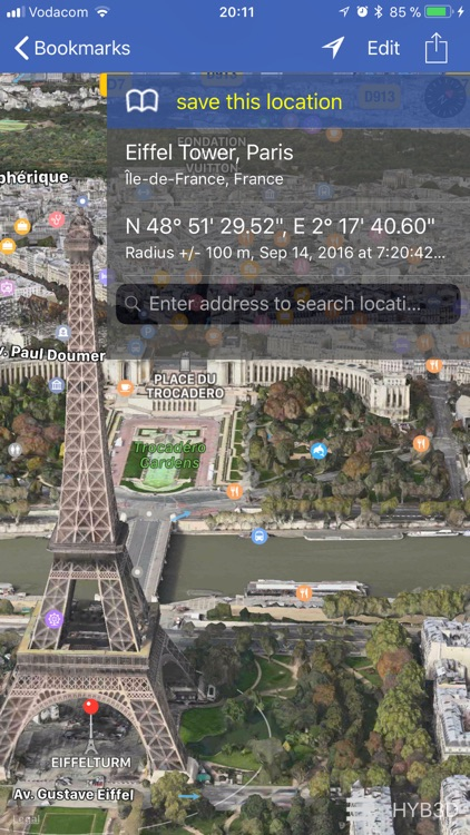 GPS location 3D/flyover screenshot-0