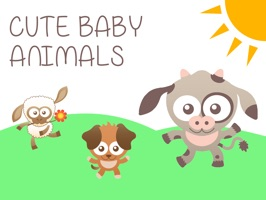 The cutest baby animal stickers