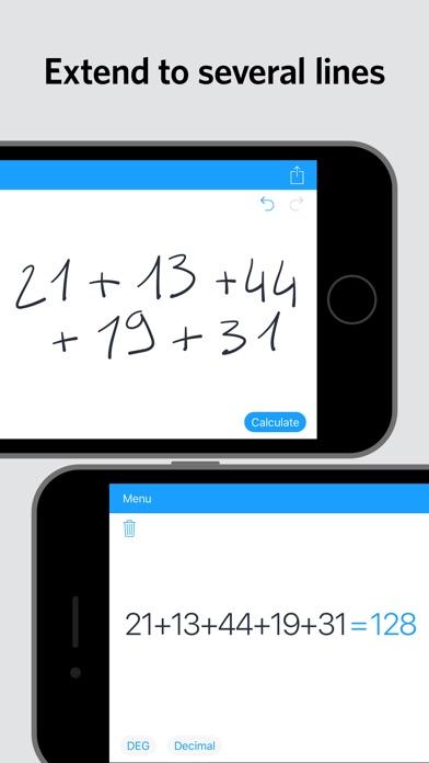 MyScript Calculator screenshot 3
