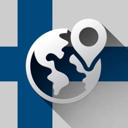 Finland Offline Travel Map