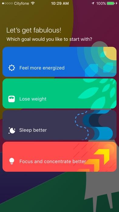 Fabulous - Daily Self Care screenshot 1