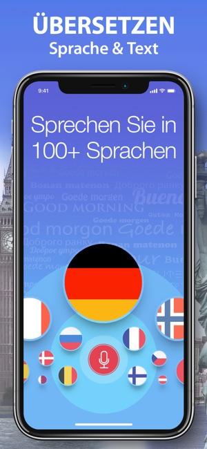 Stimm-Übersetzer & Wörterbuch. Screenshot
