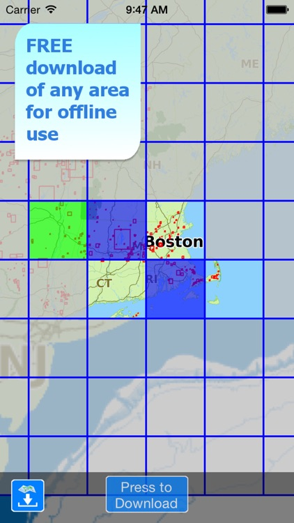Aqua Map Massachusetts Lakes + screenshot-4