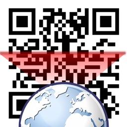 QRコード・バーコードリーダー搭載ウェブブラウザー   i-web SmartBrowser