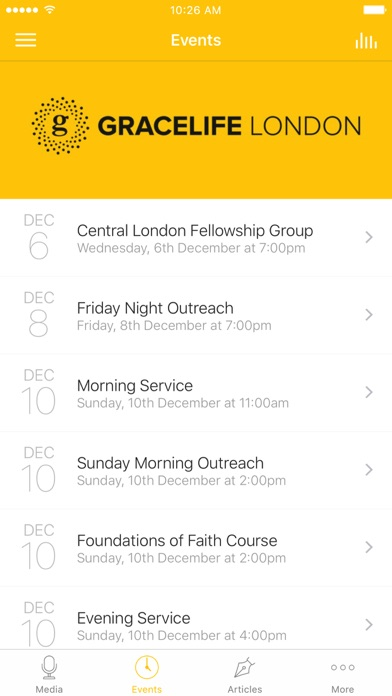 GraceLife London Church App screenshot 2