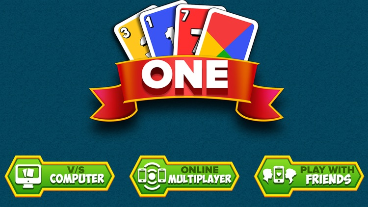One: Ono Four Color Card Game screenshot-4