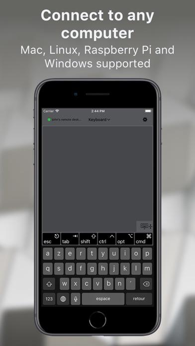 TouchPad screenshot one