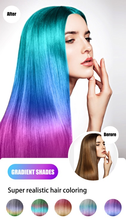 Hair Color Dye - Hairstyle DIY