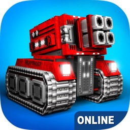 Blocky Cars - shooting games