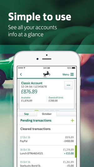 Lloyds bank mobile banking on the app store reheart Image collections