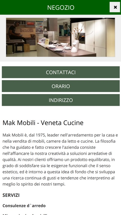 Mak Mobili by Webmobili srl