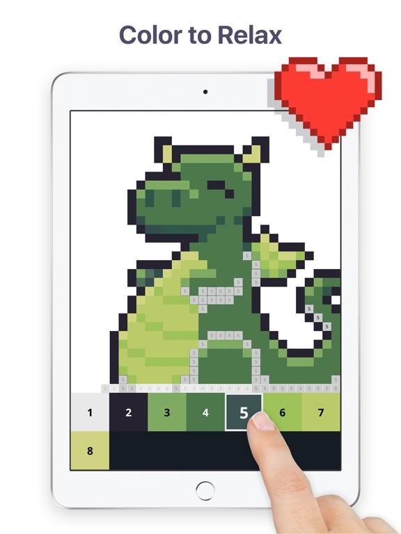 Pixel Art - Color by Number screenshot 6