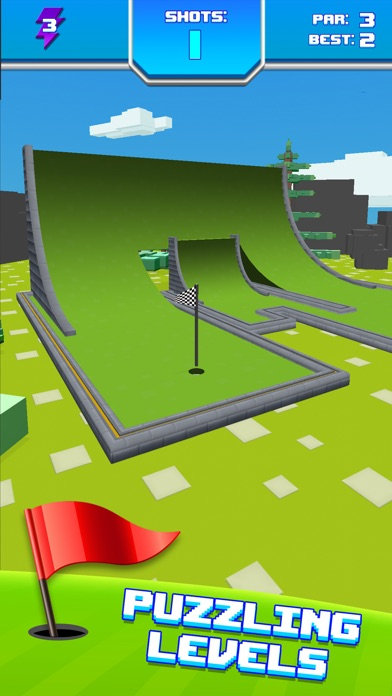 Mini Golf Star Retro Golf Game Скриншоты6