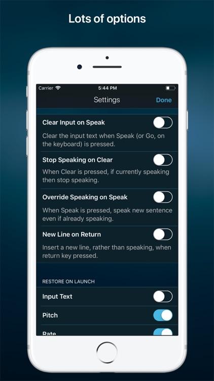Speak • Speech Synthesizer screenshot-4