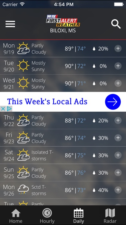 WLOX Weather screenshot-4