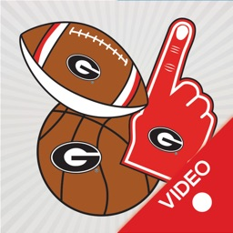 Georgia Bulldogs Animated Selfie Stickers