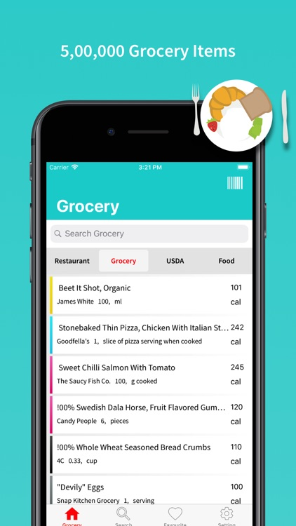FoodPoint - Nutrition Facts
