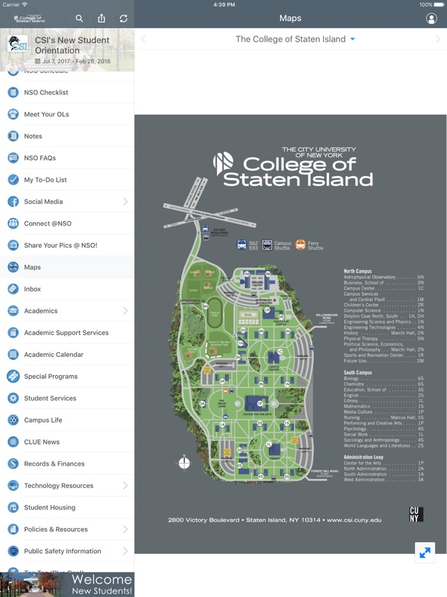 College of Staten Island on the App Store on staten island college map, staten island new york map, staten island zip code map,