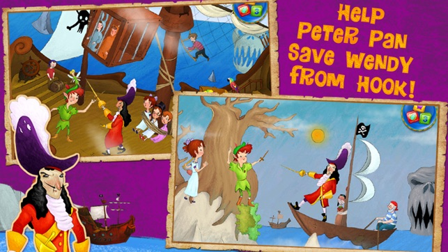 Peter Pan Adventure Book on the App Store