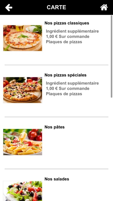 Avignon Pizza Screenshot