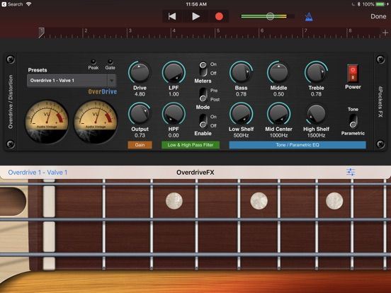 Overdrive AUv3 Plugin screenshot 7