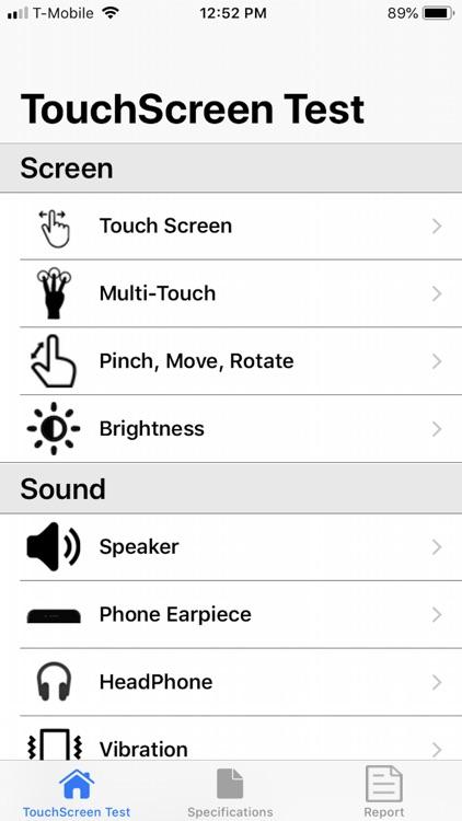 Touchscreen Test screenshot-0