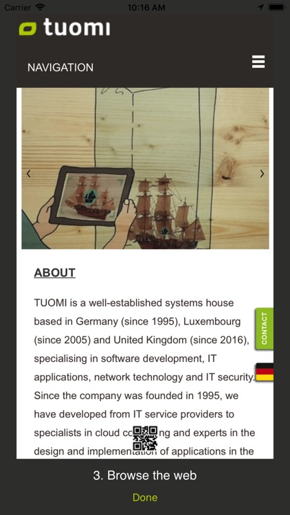 Tuomi - QR Code Scanner by tuomi